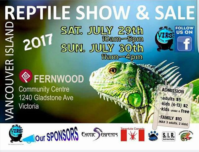 Reptile Expo Vancouver Island